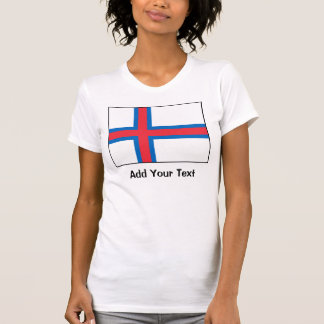 Faroe Island flagga T-shirts