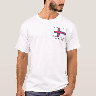 Faroe Island flagga Tee Shirt