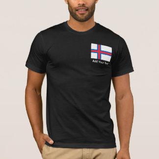 Faroe Island flagga Tee Shirts