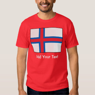 Faroe Island flagga Tröja