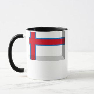 Faroe Island flaggajuvel Mugg