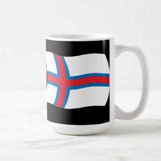 Faroe Island flaggamugg Kaffemugg