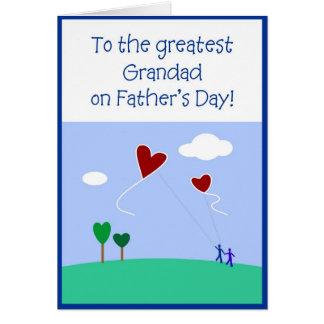 Fars dag - farfar hälsningskort