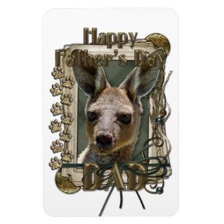Fars dag - stentassar - känguru magnet