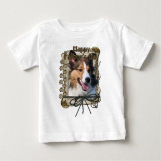 Fars dag - stentassar - Sheltie T-shirts