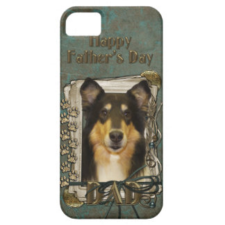 Fars dagPAPPA - sten tafsar - Collie - Caroline iPhone 5 Case-Mate Cases