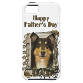 Fars dagPAPPA - sten tafsar - Collie - Caroline iPhone 5 Case-Mate Skal
