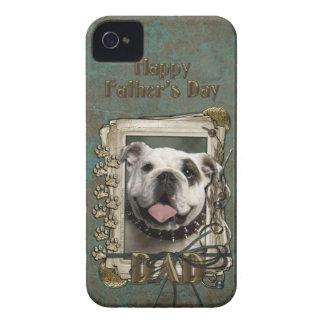 Fars dagPAPPA - stentassar - bulldogg iPhone 4 Case