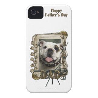 Fars dagPAPPA - stentassar - bulldogg iPhone 4 Case-Mate Cases