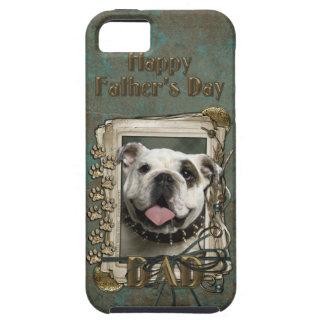 Fars dagPAPPA - stentassar - bulldogg iPhone 5 Skal