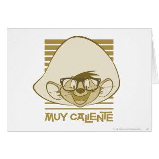 Fartfyllda Gonzales - Muy Caliente Hälsningskort