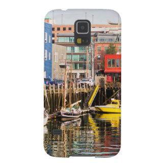 Fartyg förtöjde | Portland, Maine Galaxy S5 Fodral
