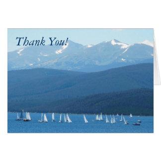Fartyg - tack! hälsningskort
