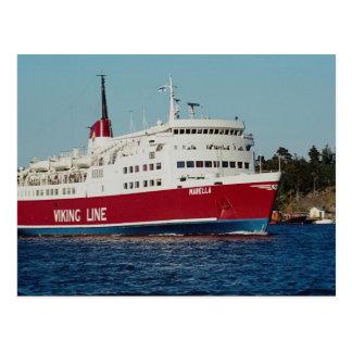 Fartyg till Finland, Stockholm, skärgård, sverige Vykort