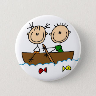 Fartygfiskestick figur knäppas standard knapp rund 5.7 cm