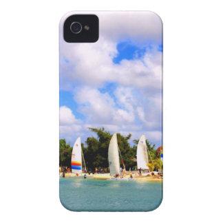 Fartygredo som startar tävlingen iPhone 4 Case-Mate skydd