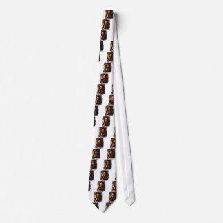 Fasa för freak för fasaflickastearinljus kuslig slips