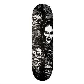Fasafilmmonster maskerar (b&w) skate decks