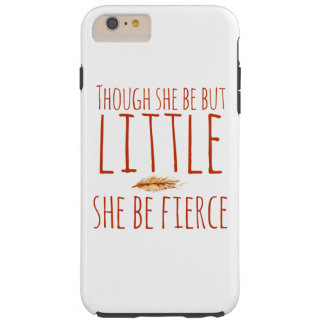 Fast hon är men, lite är hon våldsam tough iPhone 6 plus skal