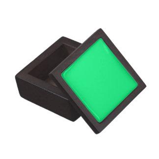 Fast ljust - den gröna högvärdiga gåvan boxas premie prydnadslåda