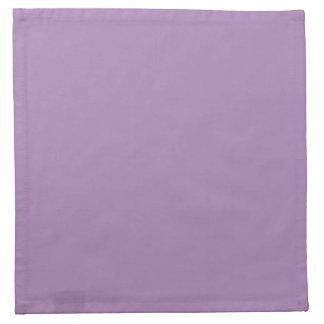 Fasta afrikanska violetta purpurfärgade tygservett