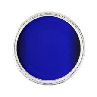 Fasta elektriska blått kavajnål