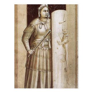 Fasthet vid Giotto Vykort