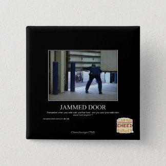 Fastklämd dörr standard kanpp fyrkantig 5.1 cm