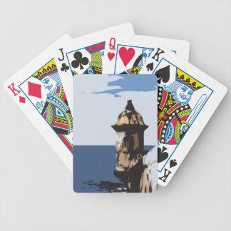 Fästning för El Morro Spelkort