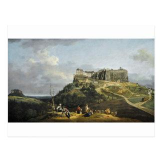 Fästningen av Konigstein av Bernardo Bellotto Vykort