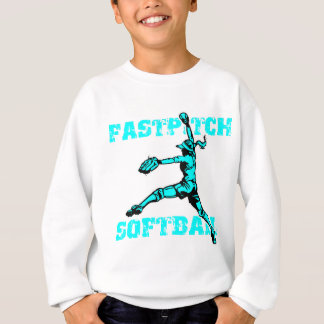 Fastpitch bekymrad lt.blue t-shirt
