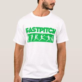 Fastpitch remsa, grönt tröja