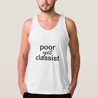 fattigt yet classist tank top