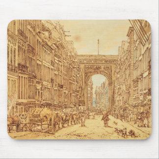 Faubourgen och Porten Sanktt-Denis, 1801 Musmatta