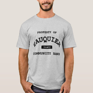 Fauquier musikband -- TRUMPET Tee Shirts