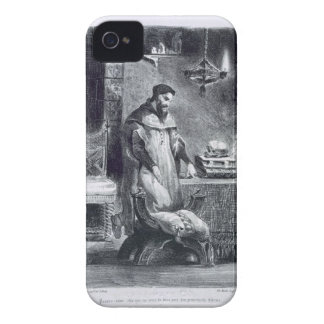 Faust i hans studie, från Goethes Faust, 1828, (il Case-Mate iPhone 4 Skal