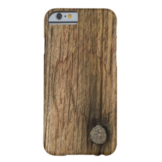 Faux riden ut Wood iPhone 6 för ladugård Barely There iPhone 6 Fodral