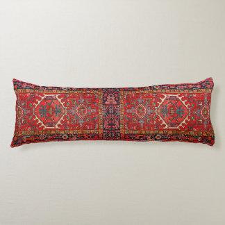 Fauxen mattar: Fototryck av den orientaliska Kroppskudde