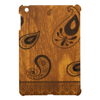 Fauxträ Paisley iPad Mini Skydd