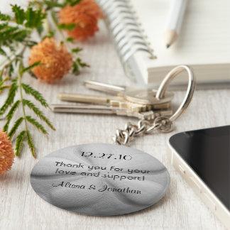 Favör för bröllop för nyckelring för personlig för