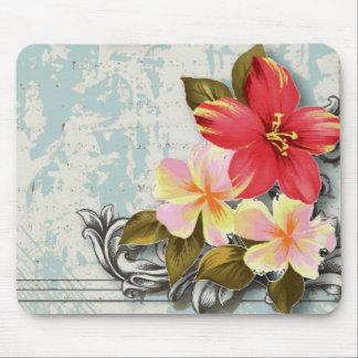 Favör för ShabbyChic Hawaii blom- strandbröllop Musmatta