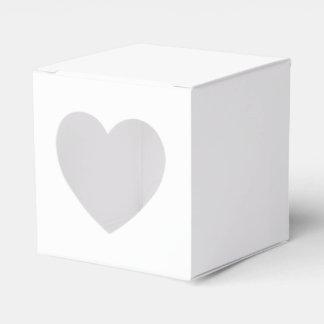 Favören för anpassningsbar 2x2 boxas med hjärta pappersaskar