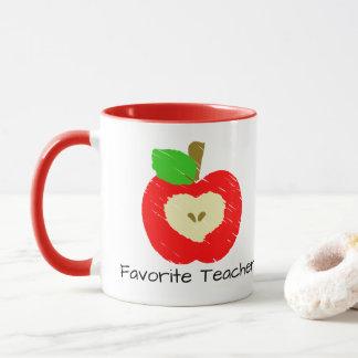 Favorit- lärareApple mugg