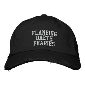 FDF skrivar den TOKIGA max UPPLAGAN för hatten Broderad Keps