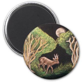 Fe av skogmagneten magnet rund 5.7 cm
