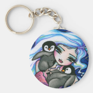 """Fe för fantasi för pingvin för baby """"för rund nyckelring"""