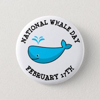 Februari 17th för medborgarevaldagen helgdagar standard knapp rund 5.7 cm