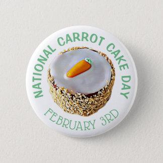 Februari 3rd för dag för medborgaremorottårta standard knapp rund 5.7 cm