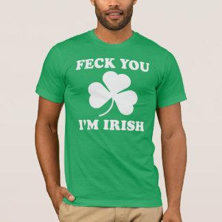 Feck dig irländare Im Tröja