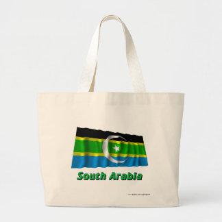 Federation av södra Arabien som vinkar flagga med  Kassar